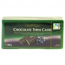 Шоколадні цукерки Maitre Truffout з чорницею 200г