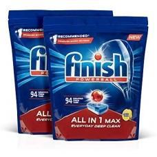 Таблетки для посудомийної машини Finish лимон 94таблетки