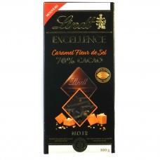 Шоколад Lindt чорний солена карамель 100г