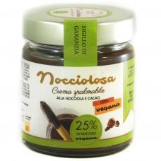 Шоколадна паста Nocciolosa 100% vegana 200г