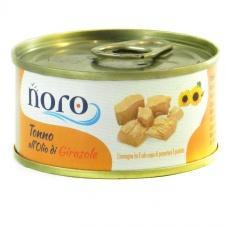 Тунець Noro Nonno all olio di Cirasole (у соняниковій олії) 80г