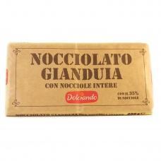 Шоколад Dolciando молочний з горіхом 480г