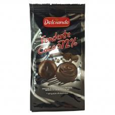 Цукерки Dolciando fondente cacao 72% 100г