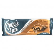 Шоколад Сhoco Fun карамель та мигдаль 300г