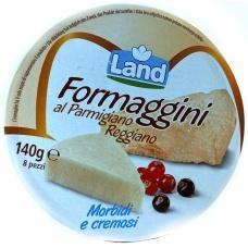 Сир Land formaggini al Parmigiano reggiano Morbidi e cremosi 140г