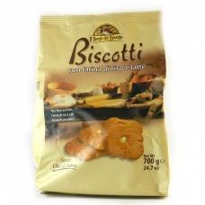 Печиво IL Borgo del Biscotto con farina di riso e latte  700г