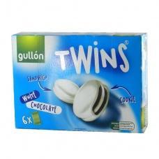 Печиво Gullon twins сендвіч в білому шоколаді 252г