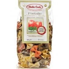 Макарони Dalla Costa Farfalle з помідором та шпинатом 500г