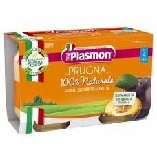 Пюре Plasmon сливка від 4міс. 3*80г