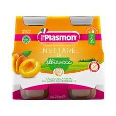 Сік Plasmon абрикосовий без глютену 4*125мл