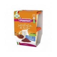 Пюре Plasmon молоко та какао без глютену до 6міс. 2*120г