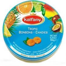 Льодяники Kalfany тропічні фрукти 150 г