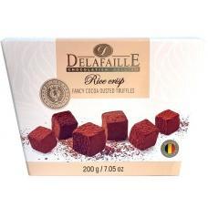 Цукерки трюфель Delafaille Rice crisp 200г