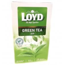 Чай Loyd зелений 20пакетиків