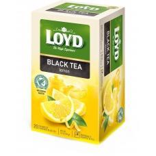 Чай Loyd чорний з лимоном 20 пакетиків