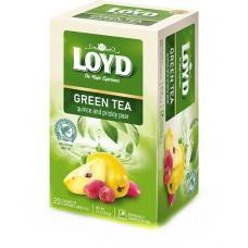 Чай Loyd зі смаком айви та опунції 20 пакетиків