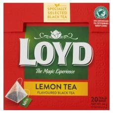 Чай Loyd чорний з лимоном 20 пак.34г