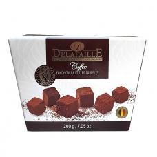 Цукерки трюфель Delafaille coffe 200г