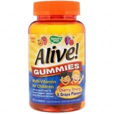 Вітаміни Nature's Way Alive! Gummies Multi-Vitamin for Children 60 шт