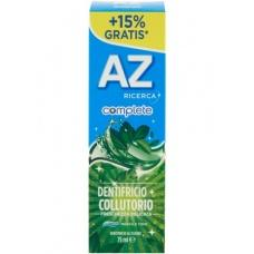 Зубна паста AZ Dentifricio+Collutorio menta e timo 75 мл (з ефектом ополіскувача)