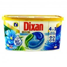 Капсули для прання Dixan Discs fresh power універсальні 25шт
