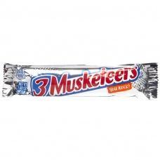 Цукерки шоколадні 3 Musketeers you rock батончик 60г