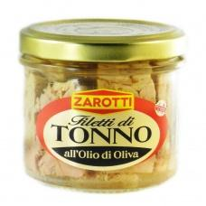 Тунець Zarotti у оливковій олії 110гр