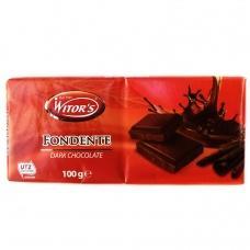 Шоколад Witors чорний 50% какао 100г