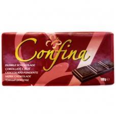 Шоколад Confina чорний 44% какао 100г
