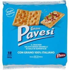 Крекери Gran Pavesi не солені 0,56кг