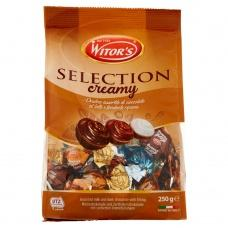 Цукерки шоколадні Witors Selection cremy 250г
