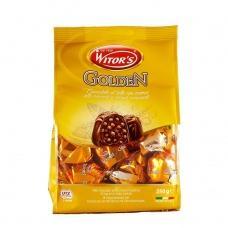 Цукерки шоколадні Witors гolden 250г