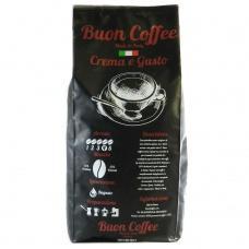 Кава в зернах Buon Coffe Crema e Custo 1кг