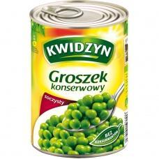 Горошок консервований Kwidzyn 400г