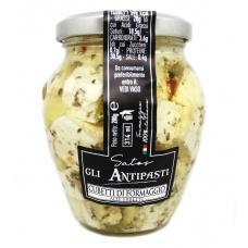 Сир Satos gli Antpasti в соняшниковій олії з пряними травами 280г