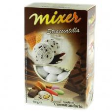Цукерки Mixer мигдаль в шоколаді stracciatella 0,5кг