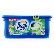 Капсули для прання Dash Anti-Odore 24шт