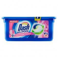 Капсули для прання Dash Protezione Tessuti 24шт