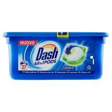 Капсули для прання Dash Classico 27шт