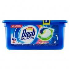 Капсули для прання Dash Salva Colore 27шт
