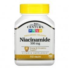 Вітаміни 21st Century Ніацин (В3)250мкг ,110шт