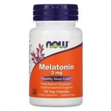 Вітаміни Now Melatonin 3мкг 60шт