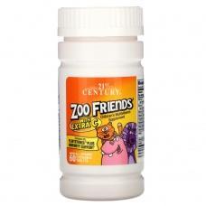 Вітаміни 21st Century Zoo Friends 60 шт