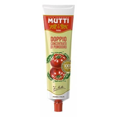 Концентрована томатна паста Mutti Doppio 130г