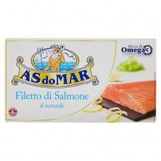 Лосось As do Mar філе у власному соці 150г