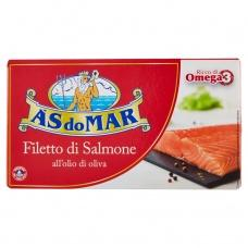 Лосось As do Mar філе в оливковій олії 150г