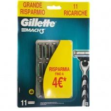 Змінні касети для Gillette Mach3 11шт