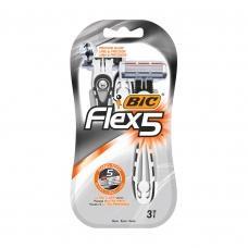 Станки для гоління Bic 5 Flex 3шт