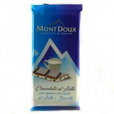 Шоколад Mont Doux Latte e Biscotti 100г
