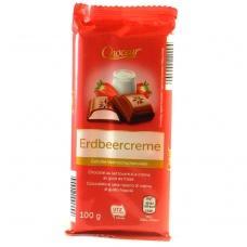 Шоколад Сhoceur Erdbeercreme 100г